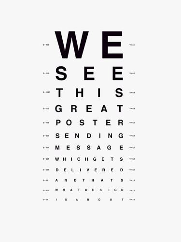 image relating to Eye Chart Printable identified as eye-chart - Print Print
