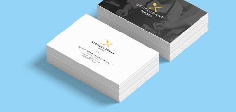 Free Business Card Design Templates Print Print
